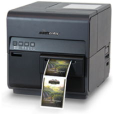 Swiftcolor SCC-4000P, High Speed Inkjet Farb-Etikettendrucker, Pigment Based Ink