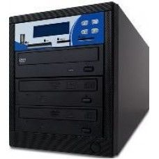 ComAttack 1:2 Multi-Format Kopierstation,  CD + DVD + DVD DL+ USB Stick + SD + CF + MS + MMC Card, 2 Brenner