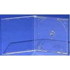 *TOP* Jewel Case MIT Tray transparent für 1 CD oder 1 DVD, for Professional, High Quality Serie