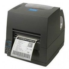 Citizen CL-S631, 12 Punkte/mm (300dpi), Peeler, ZPL, Datamax, Multi-IF (WLAN), schwarz