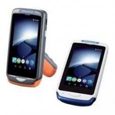 *TOP* Datalogic Joya Touch A6, 2D, USB, BT, WLAN, NFC, Gun, blau, grau, Android