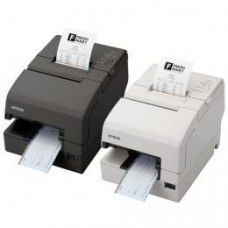 Epson TM-H 6000IV, USB, powered-USB, Cutter, schwarz