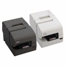 *TOP* Epson TM-H6000V, USB, RS232, Ethernet, Cutter, MICR, OPOS, ePOS, weiß