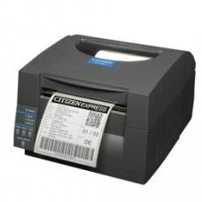 Citizen CL-S521II, 8 Punkte/mm (203dpi), EPL, ZPL, Datamax, Multi-IF (Ethernet), schwarz