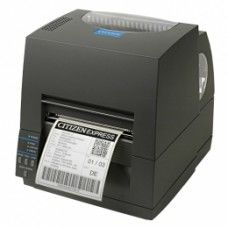 Citizen CL-S621II, 8 Punkte/mm (203dpi), EPL, ZPL, Datamax, Multi-IF (Ethernet), schwarz