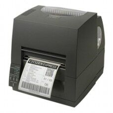 Citizen CL-S631II, 12 Punkte/mm (300dpi), EPL, ZPL, Datamax, Multi-IF (Ethernet), schwarz