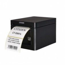 Citizen CT-E651L, 8 Punkte/mm (203dpi), Cutter, USB, schwarz