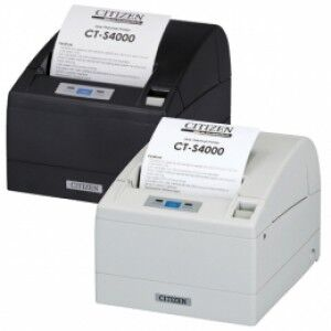 *TOP* Citizen CT-S4000, USB, RS232, 8 Punkte/mm (203dpi), Cutter, schwarz