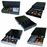 APG Cash Drawer ECD330 COMPACT DRAWER BLACK EUR/GB...