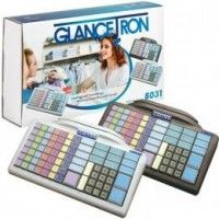 Glancetron Keyboard 8031, Num., RS232, PS/2, Kit, ...