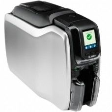 Zebra ZC300, einseitig, 12 Punkte/mm (300dpi), USB, Ethernet, Display, Contact, Contactless