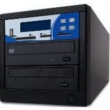 ComAttack 1:1 Multi-Format Kopierstation,  CD + DVD + DVD DL+ USB Stick + SD + CF + MS + MMC Card, 1 Brenner