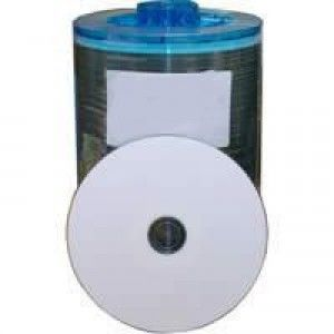 DVD-R Sony DADC, white ink, inkjet weiss, Full Surface, für professionelle Produktion, A-IW16/0.1