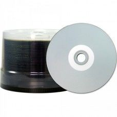 CD-R 80 JVC/TY (by CMC PRO) 48x Inkjet silver Full Surface WaterPro 100er Bulk