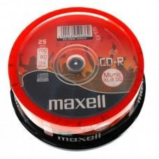 CD-R 80 Maxell 52x Audio 25er Cakebox