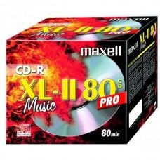 CD-R 80 Maxell Audio Music PRO 1er Jewelcase
