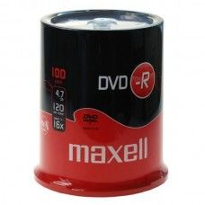 DVD+R 4.7GB Maxell 16x 100er Cakebox