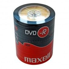 DVD+R 4.7GB Maxell 16x 100er Shrink Pack