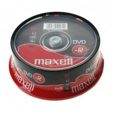 DVD+R 4.7GB Maxell 16x 25er Cakebox