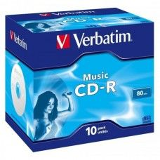 CD-R 80 Verbatim Audio 16x 10er Jewel Case