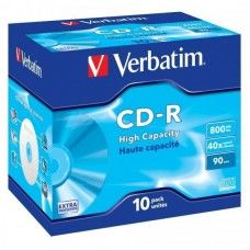 CD-R 90 Verbatim 40x DL 10er Jewel Case