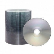 CD-R 80 XLayerPro 52x Diamond Shiny Silver Full Surface Full Metalized 100er Bulk