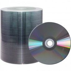 CD-R 80 XLayerPro 52x Shiny Silver Full Surface Full Metalized 100er Bulk