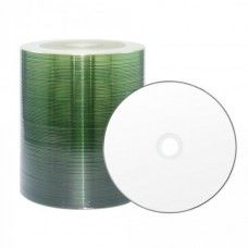 CD-R 80 XLayerPro 52x Thermo white Full Surface Full Metalized 100er Bulk
