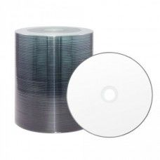 CD-R 80 XLayer Value 52x Diamond Thermo white Full Surface Full Metalized 100er Cakebox