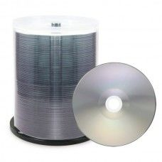 DVD-R 4.7GB XLayerPro 16x Thermo silver Full Surface Full Metalized 100er Cakebox