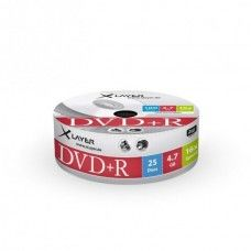 DVD+R 4.7GB XLayer 16x 25er Shrink Pack